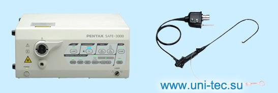 Видеопроцессор SAFE-3000 и автофлуоресцентный видеобронхоскоп Pentax EB-1570AK